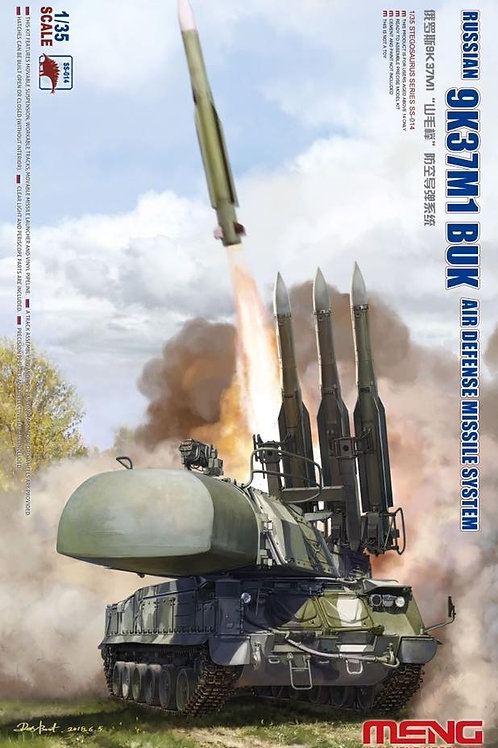 Сборная модель Советский ЗРК 9К37М1 Бук-М1 - Meng Model SS-014 1/35