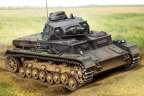 Немецкий танк Pz. IV Ausf. B - Hobby Boss 80131 1/35