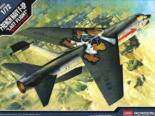 Самолет F-8P Crusader French Navy 'Last Flight' - Academy 1:72 12559