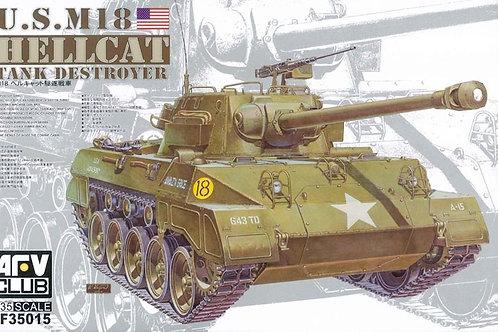Истребитель танков M18 Hellcat - AFV Club AF35015 1:35