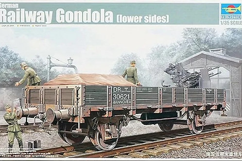 German Railway Gondola (lower sides) - Trumpeter 1:35 01518