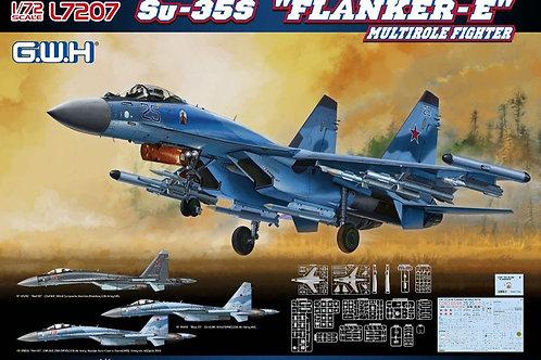 (под заказ) Российский самолет Су-35С - Great Wall Hobby GWH 1:72 L7207