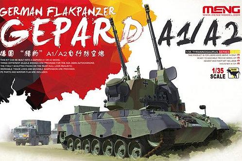 """Современная немецкая ЗСУ """"Гепард"""" Gepard A1/A2 - Meng Model 1:35 TS-030"""