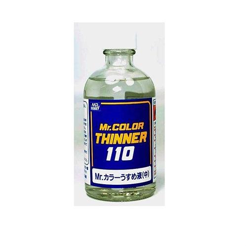 Mr. Hobby T-102 Разбавитель для красок Mr. Color (синяя этикетка), 110 мл