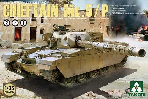 Британский танк Chieftain Mk.5/P - Takom 2027 1:35