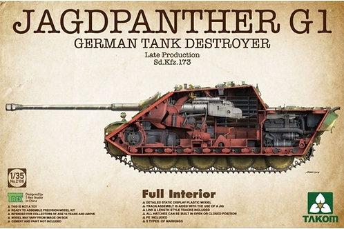 (под заказ) Jagdpanther G1 Late Production с полным интерьером - Takom 2106 1/35