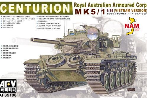 Центурион Centurion Mk 5/1, Vietnam Version Вьетнам - AFV Club AF35100 1:35