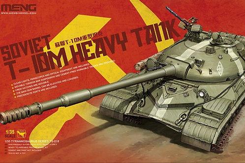 Советский танк Т-10М сборная модель - Meng Model TS-018 1:35