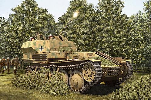 Немецкая 20-мм зенитка Flak 38 на базе Pz.38(t) Прага - Hobby Boss 80140 1:35