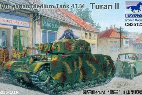 "Венгерский танк ""Туран 2"", 41.M Turan II - Bronco 1:35 CB35123"