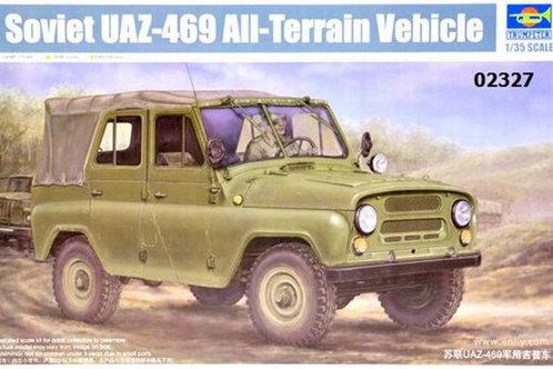 Советский внедорожник УАЗ-469 - Trumpeter 02327 1:35