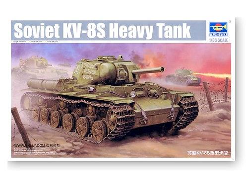 (под заказ) Советский танк КВ-8C - Trumpeter 1:35 01572