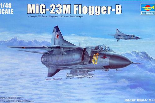 Советский истребитель МиГ-23М Flogger-B - Trumpeter 02853 1/48