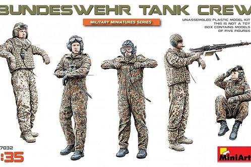 37032 MiniArt 1/35 Танковый экипаж Бундесвера BUNDESWEHR TANK CREW