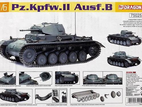 Немецкий танк Pz.Kpfw.II Ausf.B - Dragon 1:6 75025
