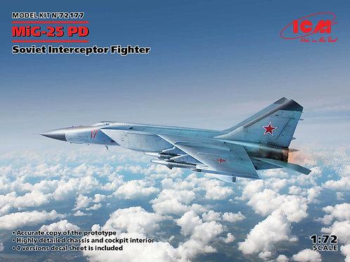 ICM 72177 1:72 МиГ-25 ПД, Советский истребитель-перехватчик