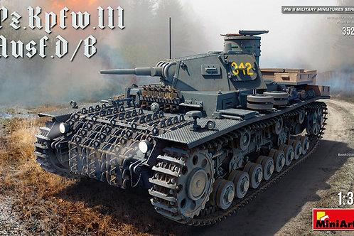 Средний танк Pz.Kpfw.III Ausf. D/B - MiniArt 35213 1:35