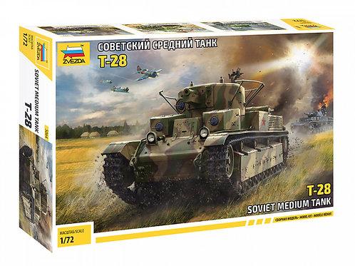Звезда 5064 1/72 Советский средний танк Т-28