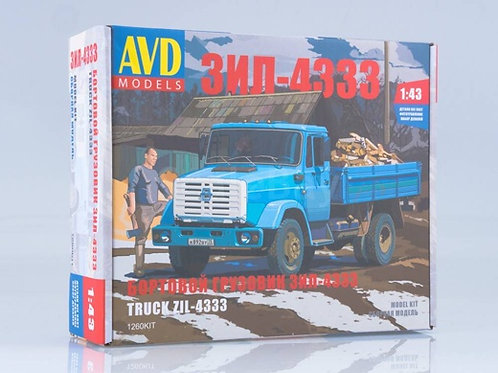 Сборная модель ЗиЛ-4333 бортовой - 1260KIT AVD Models 1/43 1260