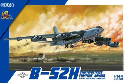 (под заказ) B-52H Stratofortress Strategic Bomber - Great Wall Hobby 1:144 L1008