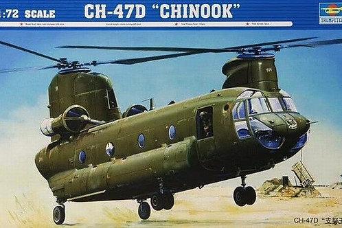 """Вертолет США Чинук, Boeing CH-47D """"Chinook"""" - Trumpeter 1:72 01622"""