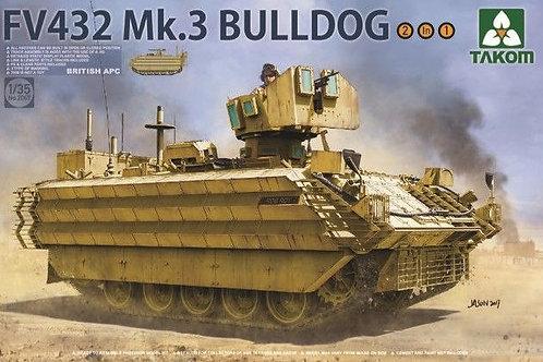 Британский БТР FV432 Mk.3 Bulldog (2в1) - Takom 2067 1/35