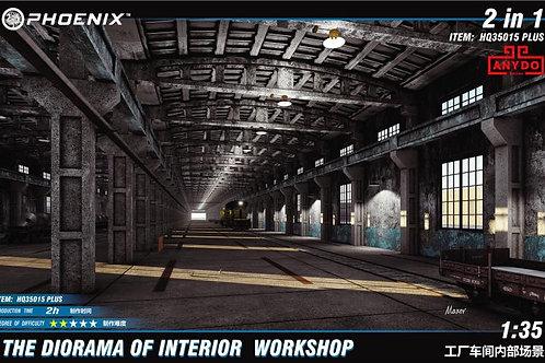 (под заказ) Заводская мастерская, 2 варианта сборки Phoenix Models HQ35015+ 1/35