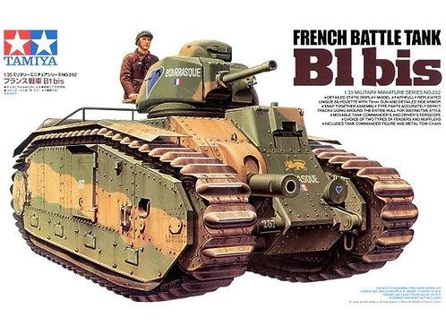 French Battle Tank B1 bis - Tamiya 1:35 35282