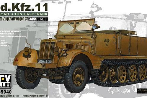 Sd.Kfz.11 Leichter Zugkraftwagen 3t - AFV Club 1:35 AF35040
