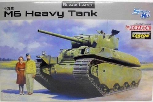 Американский тяжелый танк M6 Heavy Tank (Black Label Series) - Dragon 6798 1:35