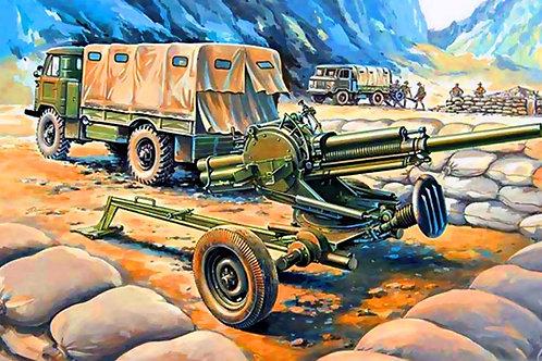 """82-мм миномет 2Б9 """"Василек"""" + машина 2Ф54 - Восточный Экспресс 35136 1/35"""
