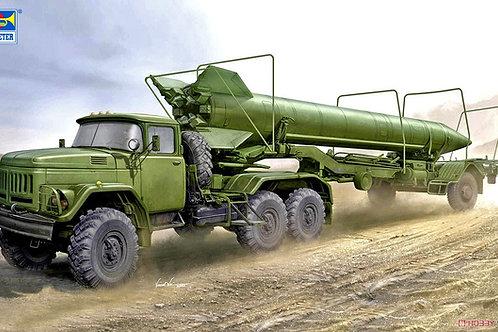 (п/заказ) Trumpeter 1:35 01081 Тягач ЗиЛ-131В и ракета Р-17 (из ОТРК Эльбрус)