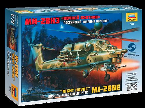 """7255 Звезда 1/72 Российский ударный вертолёт Ми-28 (Ми-28НЭ) """"Ночной охотник"""""""