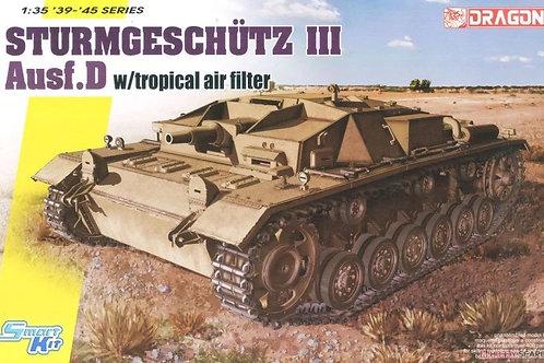 (под заказ) StuG.III Ausf.D, интерьер, тропический фильтр - Dragon 1:35 6905