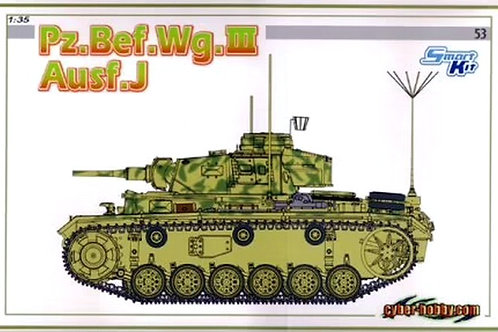 (под заказ) Pz.Bef.Wg.III Command Tank Ausf.J - Dragon / Cyber Hobby 6544 1:35