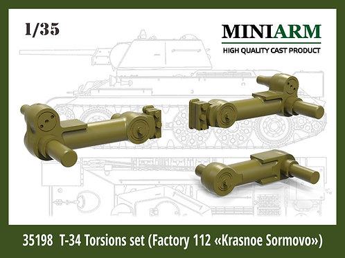 Miniarm 35198 Комплект балансиров Т-34/76 завод №112 Красное Сормово 1:35 b35198