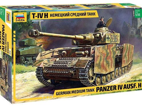 Немецкий танк Pz.Kpfw.IV Ausf.H - Звезда 3620 1/35