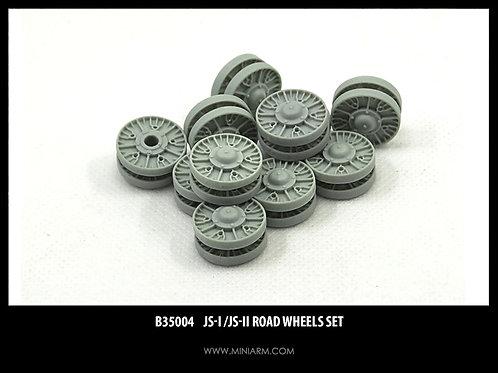 35004 MINIARM ИС-1, ИС-2, ИСУ-152 набор опорных катков, 14 шт - b35004 1:35