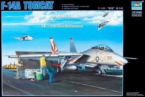 (под заказ) Самолет Grumman F-14A Tomcat - Trumpeter 1:32 03201
