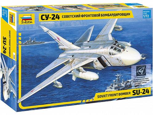 7265 Звезда 1/72 Советский фронтовой бомбардировщик Су-24