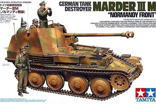 Немецкая самоходка Мардер 3М / Marder III Ausf. M, Нормандия - 35364 Tamiya 1/35