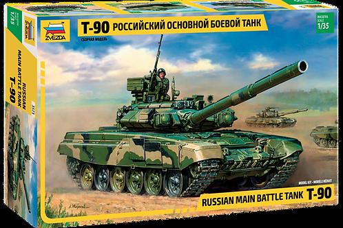 Звезда 3573 1/35 Российский основной боевой танк Т-90