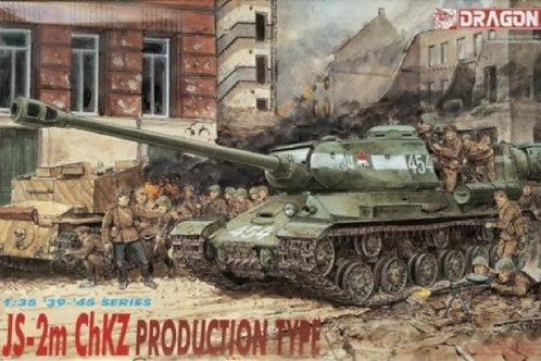 Советский танк ИС-2М, Челябинский завод - Dragon 6018 1:35