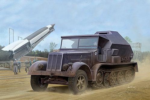 Sd.Kfz. 7/3 Half-Track Artillery Tractor Feuerleitpanzer - Trumpeter 1:35 09537