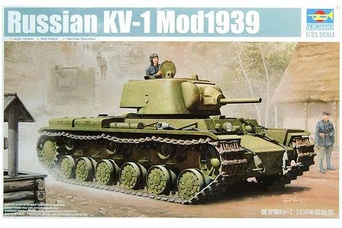 (под заказ) Советский танк КВ-1 мод. 1939 года - Trumpeter 01561 1:35
