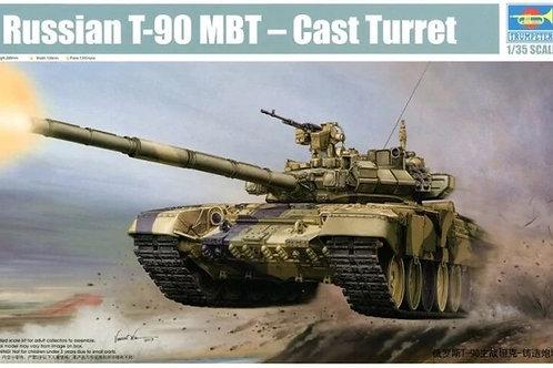 Российский танк Т-90А с литой башней - Trumpeter 1:35 05560