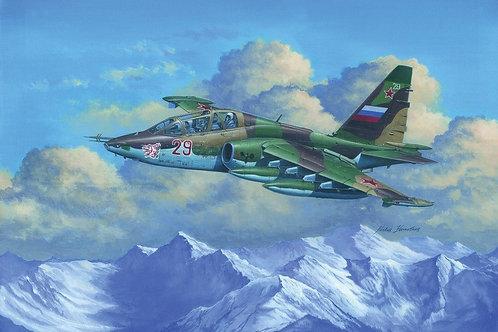 Советский самолет Су-25УБ Frogfoot B - Trumpeter 1:32 02277