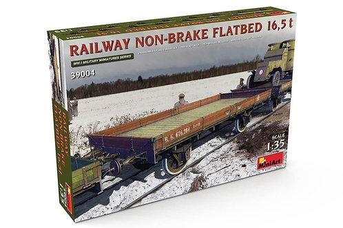 39004 MiniArt 1/35 Железнодорожная платформа 16,5 тонн