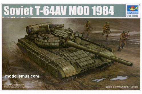 Советский танк Т-64АВ мод. 1984 года - Trumpeter 01580 1/35