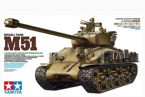 (под заказ) Израильский танк M51 Super Sherman - Tamiya 35323 1:35